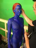First Look: Jennifer Lawrence as Mystique in 'X-Men Days of Future Past'