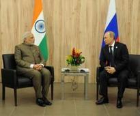 PM Modi Meets President Putin; Favours Broadening of Strategic Partnership