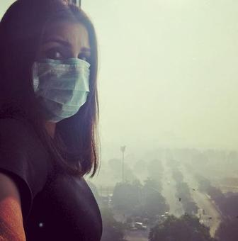 Chest, head, throat hurts: Parineeti in Delhi