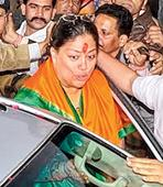 Raje and Modi factor wreck 'freebie Gandhi'