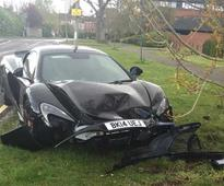 Brand New To Wrecked In 10 Minutes: Man Crashes New McLaren 650S Spider