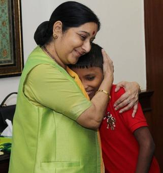 Indian boy abducted 6 years ago reunites with family