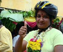 A green ride to Amaravati to dispel the blues
