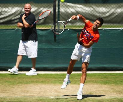 Break won't do any good for 'lion-hearted' Djokovic, feels Agassi