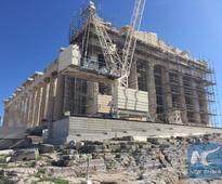Backgrounder: Restoration work on the Athenian Acropolis