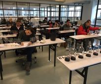 Meiburg introduces MW-style mock tasting exams