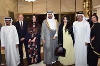 Saudi Arabia's Prince Faisal Bin Sultan holds art exhibtion in Abu Dhabi