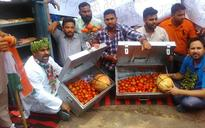 Youth Congress protests against rising prices