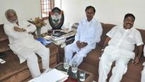 KCR gives open offer to Congress MPs to join TRS