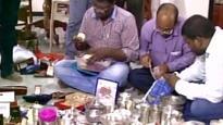 Rs 800 cr seized in raids on senior Andhra transport dept official