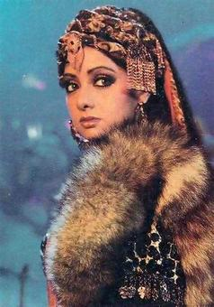 Quiz: What were the names of Sridevi's characters in Khuda Gawah?