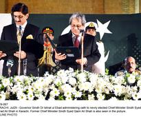 Murad Ali Shah sworn-in as Sindh CM after easy election