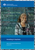 Investing in teachers