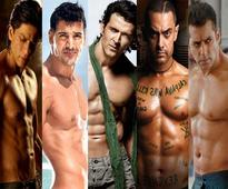 Shahrukh, Salman, Hrithik, John, Akshay, Aamir - Which shirtless hunk looks most appealing?