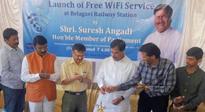 Belagavi Railway station is now Wifi Enabled