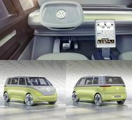 Volkswagen I.D. Buzz concept is the world's first fully autonomous MPV