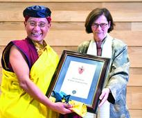 Oxford's Wolfson College confers honourary fellowship to Gyalwang Drukpa