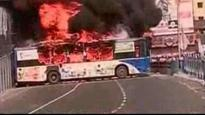 Kolkata: Mobs torch buses after two youth get run over, RAF deployed