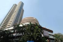 Sensex trades 45 points lower; TCS, HUL fall