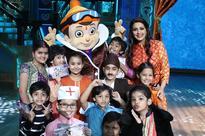 Chhota Bheem visits India's Best Dramebaaz!