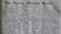 Natural History Museum of London finds a Sydney Morning Herald from Australia Day 1883 inside huge sunfish