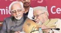 Praises and poetry: MPs pay emotional goodbye to Chairman Ansari