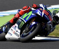 Lorenzo crashes ahead of Japan race