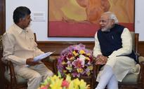 Naidu Meets Modi, Ministers, Mandarins With His Wishlist