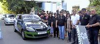 Car rally to promote motor sports