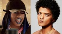 Missy Elliott tweets picture with Bruno Mars, hints at collaboration