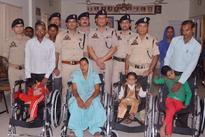 DIG donates wheel-chairs to 13 physically challenged
