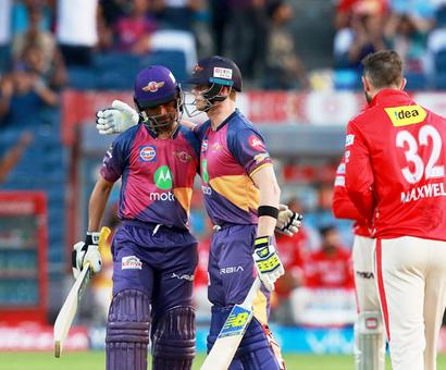 IPL PHOTOS: Pune destroy Punjab to storm into play-offs