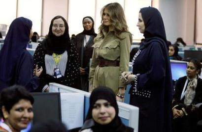 Melania, Ivanka refuse to wear head scarves during Saudi visit