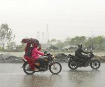 Mild rainfall clogs roads in Zirakpur again