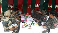BSF-Rangers Comdt-Wing Cdr level meeting held at Jammu International Border