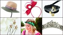 Go 'head over heels' with these beautiful accessories
