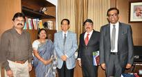 NALCO CMD, Chairman, CII Eastern Region met Odisha Governor