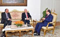 President El-Sisi discusses with Spanish FM a number of cases related to the Middle East & the Mediterranean region
