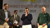 Sops and promises as Kejriwal govt marks one year in power