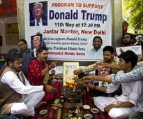 Donald Trump gets support from small right-wing Hindu group