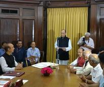 Finance Minister Arun Jaitley starts new term; takes oath in Rajya Sabha