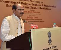 GI Tag is beneficial not only to weavers and artisans, but consumers too: Textiles Minister