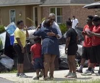 …Visits Family of Alton Sterling, Slain Police Officers