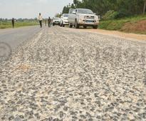 Kagina irked by substandard Tororo-Mbale-Soroti road works