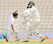 Aussies consolidate lead over Lankans