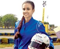Mira Erda Becomes First Female Driver to Race in National Racing Championship