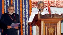 Goa CM Parrikar allots portfolios, keeps key ministries to himself