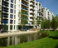London's Olympic district has been left with more money - but fewer homes
