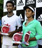 Nitin, Shivani Amineni triumph