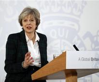 British PM Theresa May says no